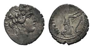 Roman Imperatorial, C. Vibius C.f. C.n. ...