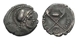 Roman Imperatorial, D. Iunius Brutus ...