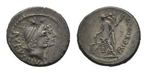Roman Imperatorial, Mn. Cordius Rufus, Rome, ...
