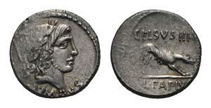Roman Imperatorial, L. Papius Celsus, Rome, ...