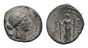 Roman Imperatorial, P. Clodius M.f. ...