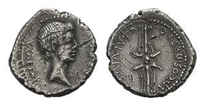 Octavian, military mint in Italy, early 40 ...