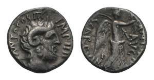 Mark Antony, Cyrene, Summer 31 BC. AR ...