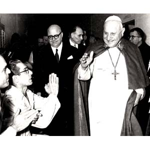 VELIO CIONI 1927 - 2004  Pope John XXIII ...
