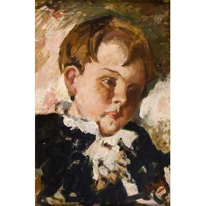 VINCENZO IROLLINapoli 1860 - 1949A boy ...