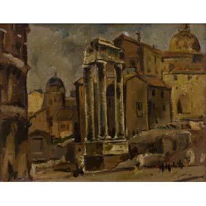LUIGI SURDI Napoli 1897 - Roma 1959  View of ...