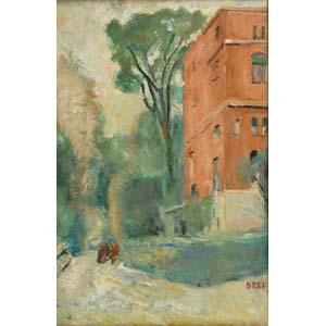 ERCOLE DREI Faenza 1886 - Rome 1973  Palazzo ...