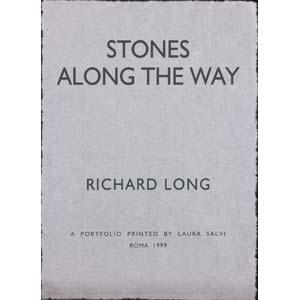 RICHARD LONG Bristol, 1945  Stones Along The ...