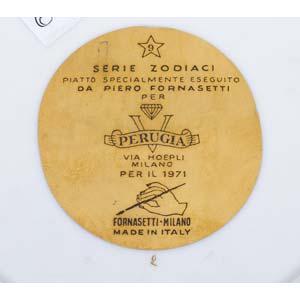 PIERO FORNASETTI Milano, 1913 - ...