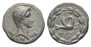 Augustus (27 BC-AD 14). AR Cistophorus ...
