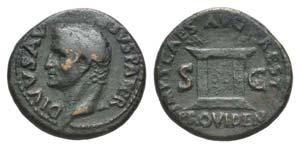 Divus Augustus (died AD 14). Æ As (28mm, ...