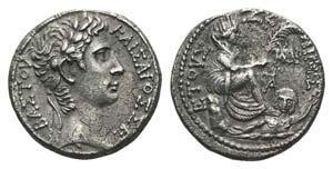 Augustus (27 BC-AD 14). Seleucis and Pieria, ...