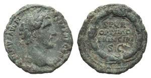 Antoninus Pius (138-161). Æ As (28mm, ...