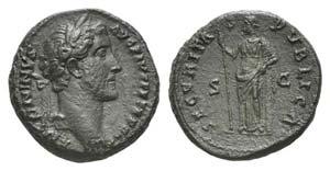 Antoninus Pius (138-161). Æ As (26mm, ...