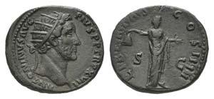 Antoninus Pius (138-161). Æ Dupondius ...