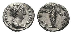 Diva Faustina Senior (died 140/1). AR ...