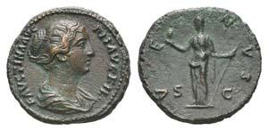 Faustina Junior (Augusta, 147-175). Æ As ...