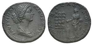 Faustina Junior (Augusta, 147-175). Æ ...