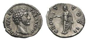 Marcus Aurelius (Caesar, 139-161). AR ...
