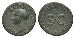 Drusus (Caesar, 19-23). Æ As (29mm, 9.82g, ...