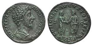 Marcus Aurelius (161-180). Æ Sestertius ...