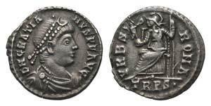 Gratian (367-383). AR Siliqua (18mm, 2.20g, ...