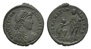 Theodosius I (379-395). Æ (25mm, 5.44g, ...
