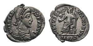Arcadius (383-408). AR Siliqua (17mm, 1.34g, ...