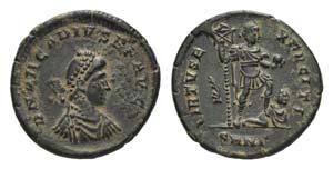 Arcadius (383-408). Æ (24mm, 6.52g, 6h). ...