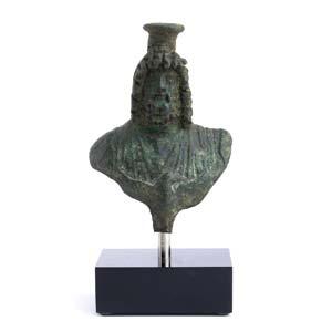 BUSTO DI GIOVE SERAPIDE I - II secolo d.C.; ...