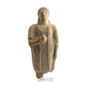 KORE CON IL MELOGRANOMagna Grecia, VI secolo ...