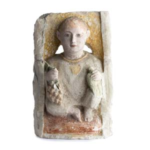STELE FUNERARIA COPTA Egitto copto, IV – V ...