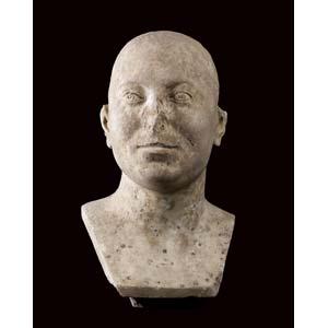 RITRATTO MASCHILE ; Marmo, alt. cm 39;