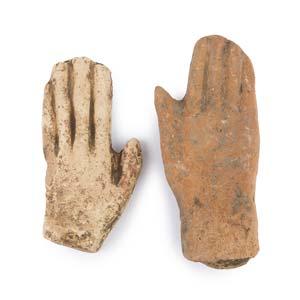 COPPIA DI MANI VOTIVEIII – II secolo a.C.; ...