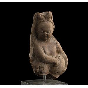 Statuetta in terracotta di Arpocrate ...