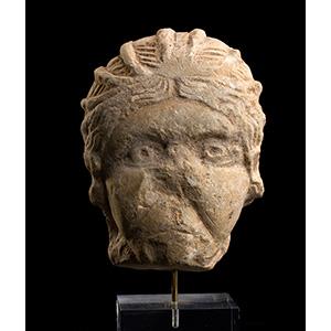 Testina femminile  II-III secolo d.C.; alt. ...
