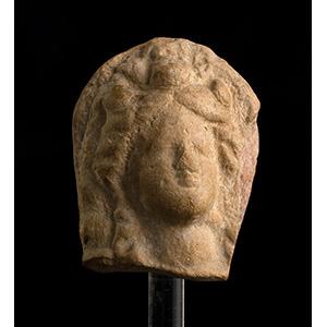 Testina votiva in terracotta  Magna Grecia, ...