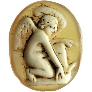 Elegante cammeo in agata con Eros I secolo ...