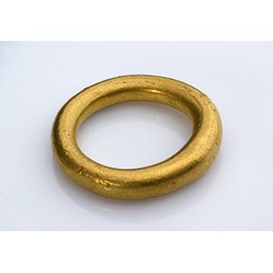 Grande anello in oro massiccio Tarda età ...