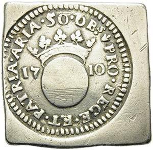FRANCIA - Luigi XIV (1643-1715) - 50 Sols - ...