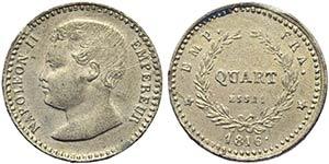 FRANCIA - Napoleone II (1815-1816) - Quarto ...