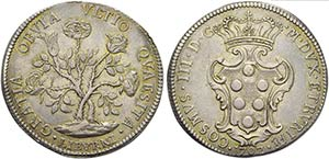 LIVORNO - Cosimo III (1670-1723) - Pezza ...