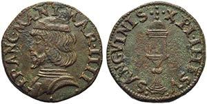 MANTOVA - Francesco III Gonzaga (1540-1550) ...