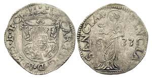 MANTOVA - Carlo I Gonzaga (1627-1637) - Lira ...