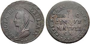 MATELICA - Pio VI (1775-1799) - Madonnina - ...