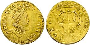 MILANO - Filippo IV (1621-1665) - Quadrupla ...