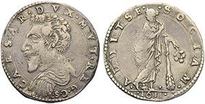 MODENA - Cesare dEste (1597-1628) - Lira - ...