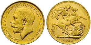 AUSTRALIA - Giorgio V (1910-1936) - Sterlina ...