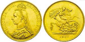 GRAN BRETAGNA - Vittoria (1837-1901) - 5 ...