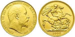 GRAN BRETAGNA - Edoardo VII (1901-1910) - 2 ...